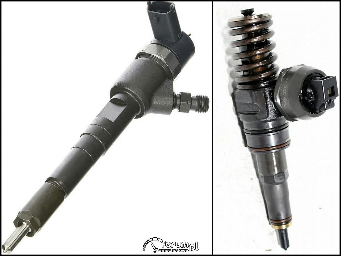 Pompowtryskiwacz vs. wtryskiwacz paliwa diesel