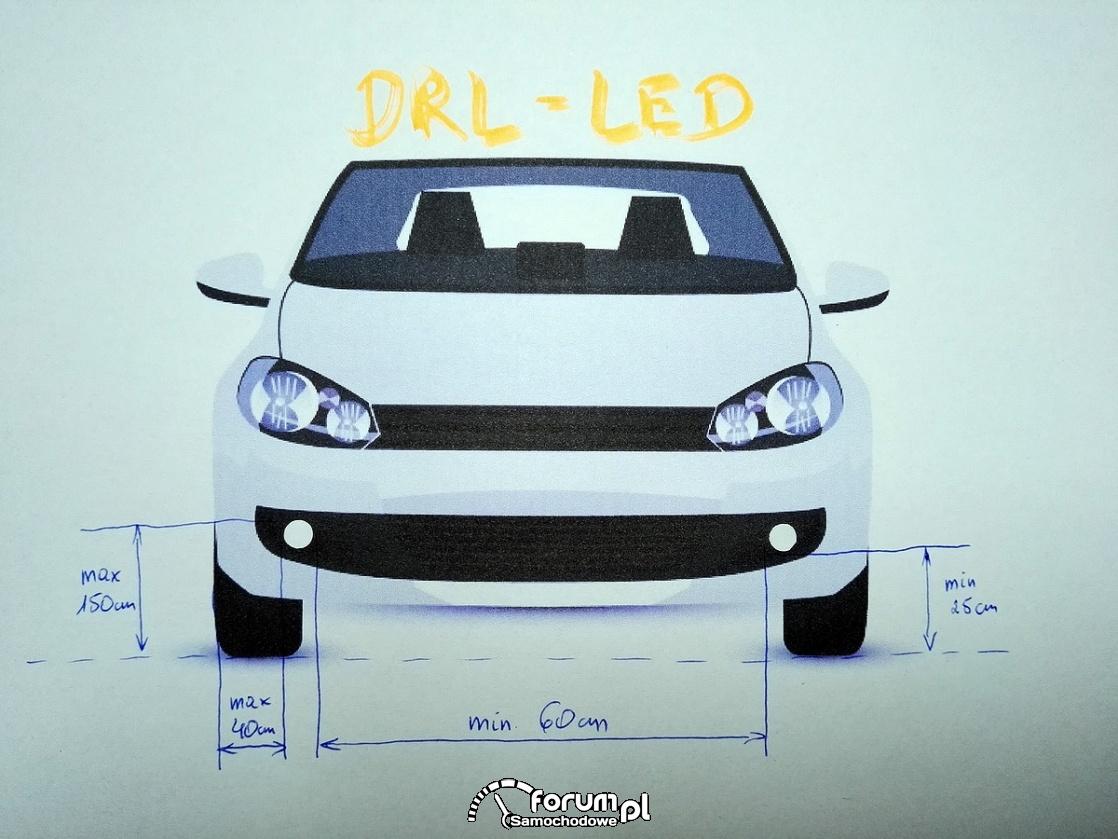 Jak prawidłowo zamontować światła do jazdy dziennej (DRL)?