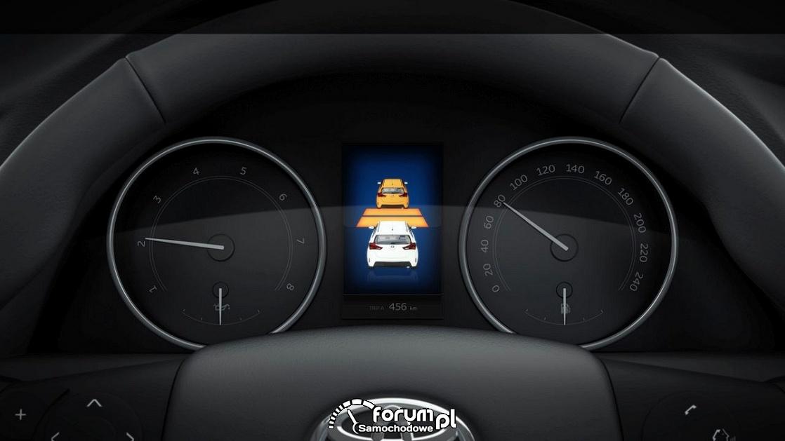 Pre-Collision System (PCS) - Toyota