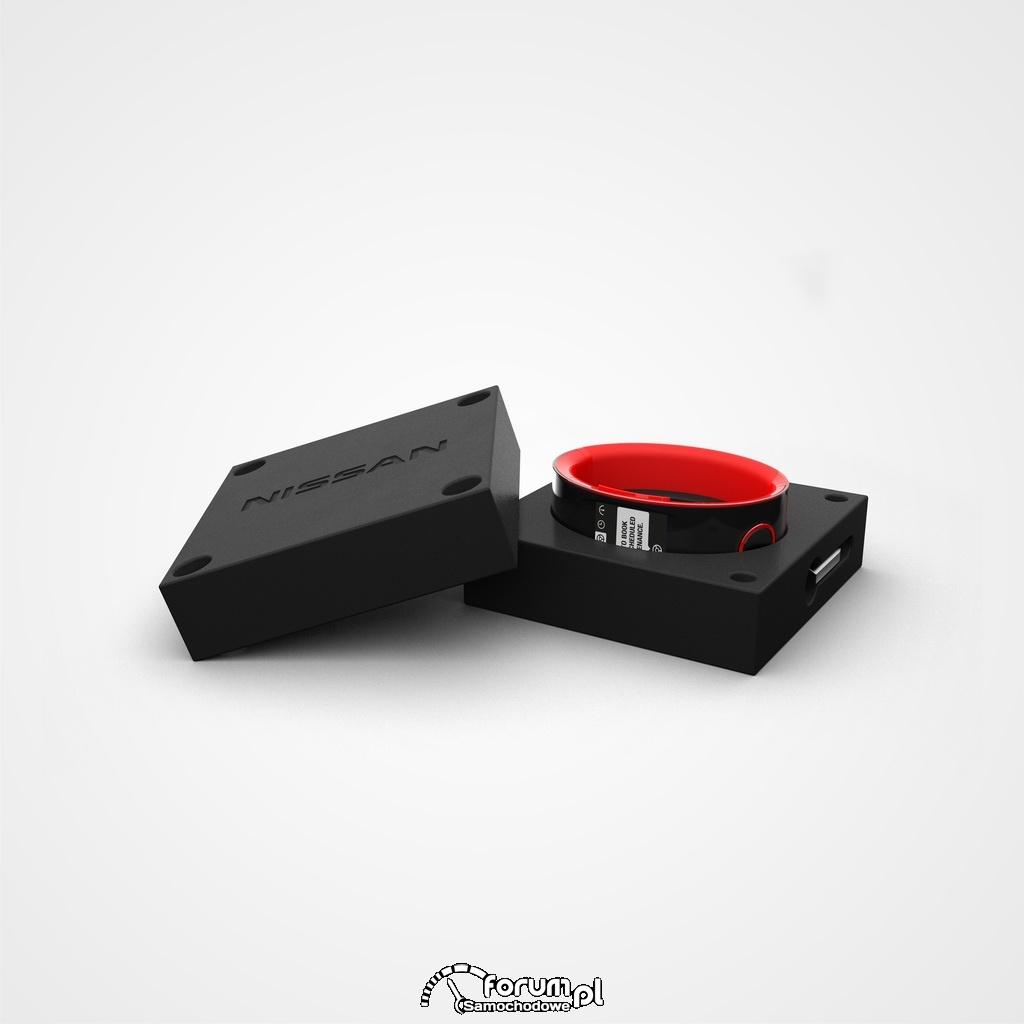 Pudełko Nissana na elegancki zegarek Nismo Watch