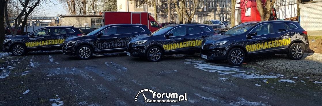 Runmageddon 2018 - organizatorzy będą jeździli Renault Kadjar i Koleos