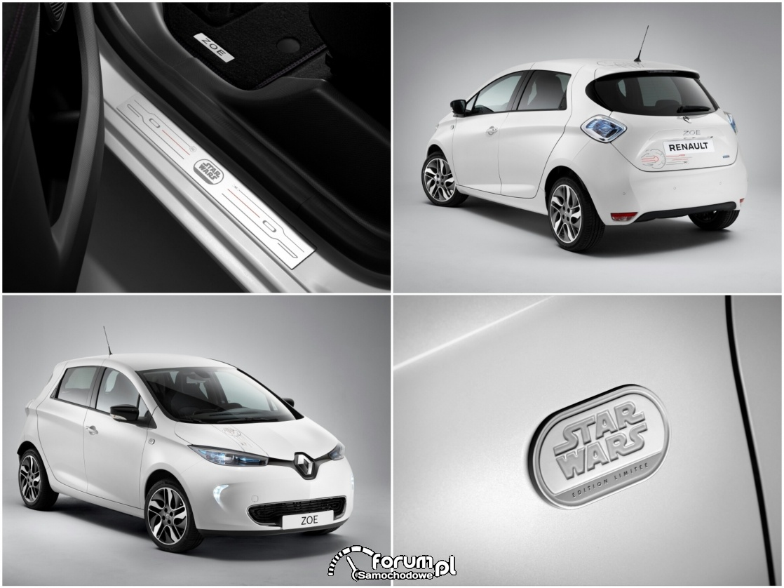 Renault ZOE - STAR WARS