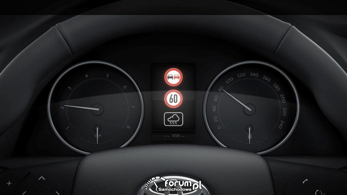 Road Sign Assist (RSA) - Toyota