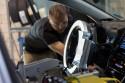 Toyota Avalon testowana przez robota