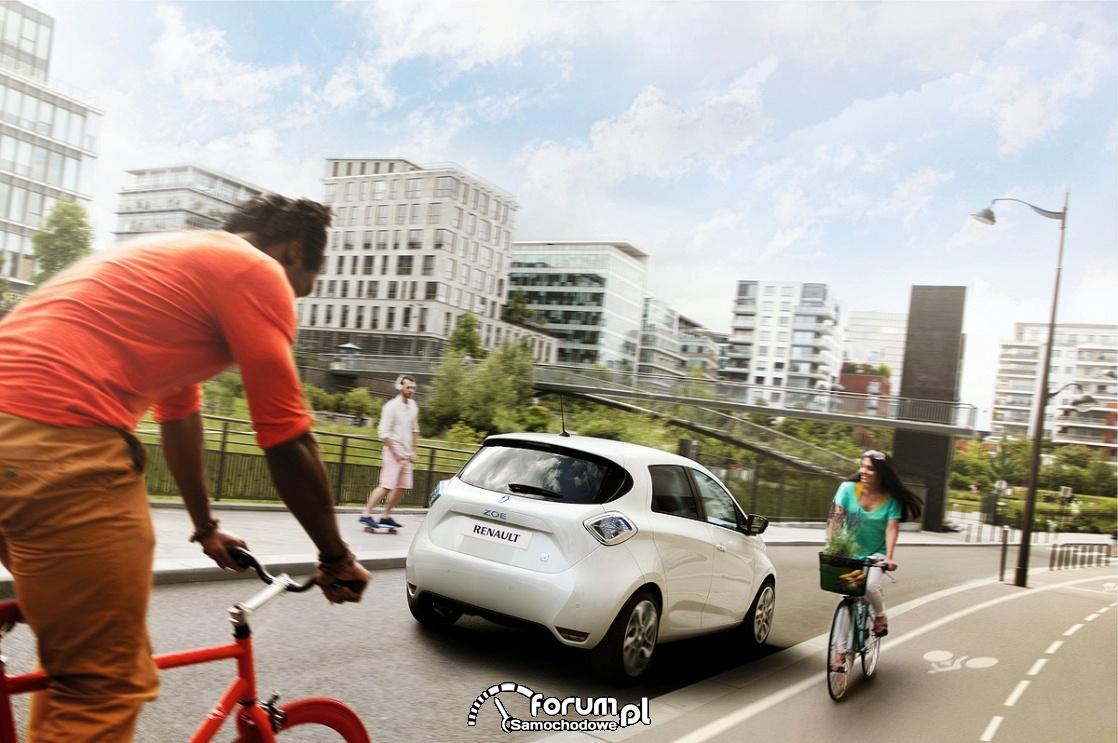 Rowerzyści, droga rowerowa