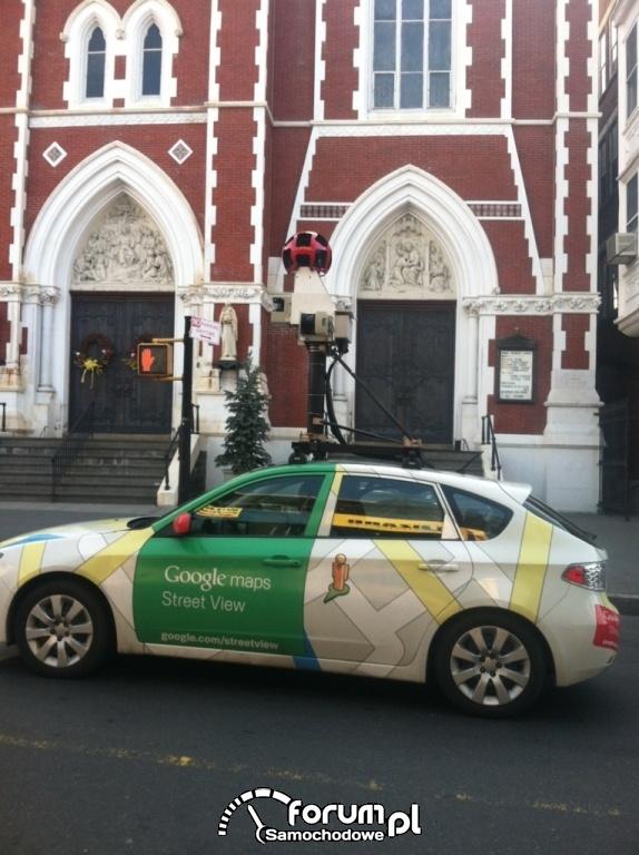 Samochód Google maps Street View, 2