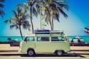 Samochód, Kamper, wakacje, podróż