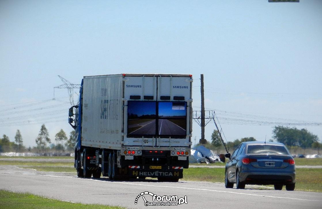 Samsung Safety Truck, bezpieczeństwo wyprzedzania