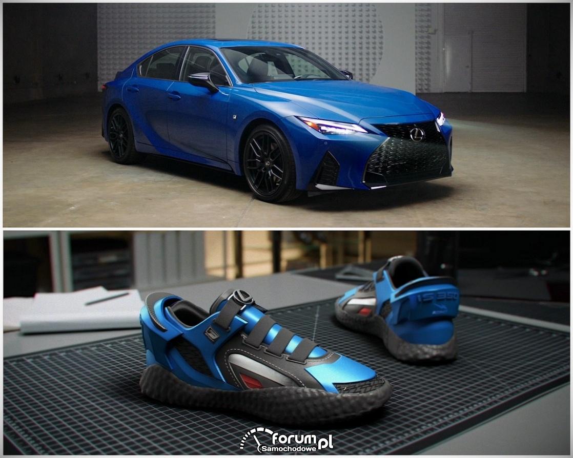 Specjalne buty inspirowane Lexusem IS