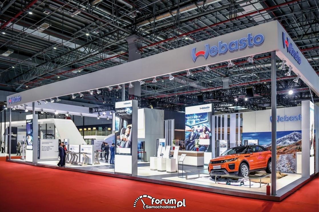Stoisko Webasto, Auto Shanghai 2017