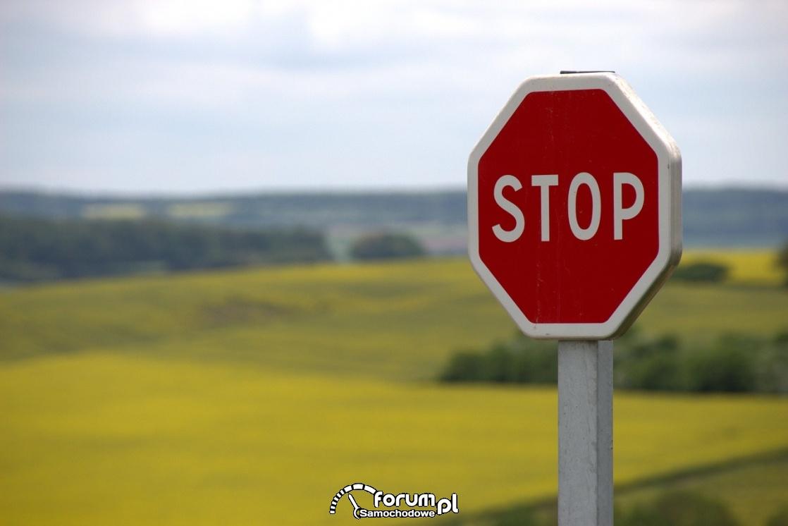 STOP, znak drogowy