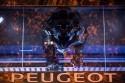Stylizowana paszcza biegnącego lwa, Peugeot Avenue