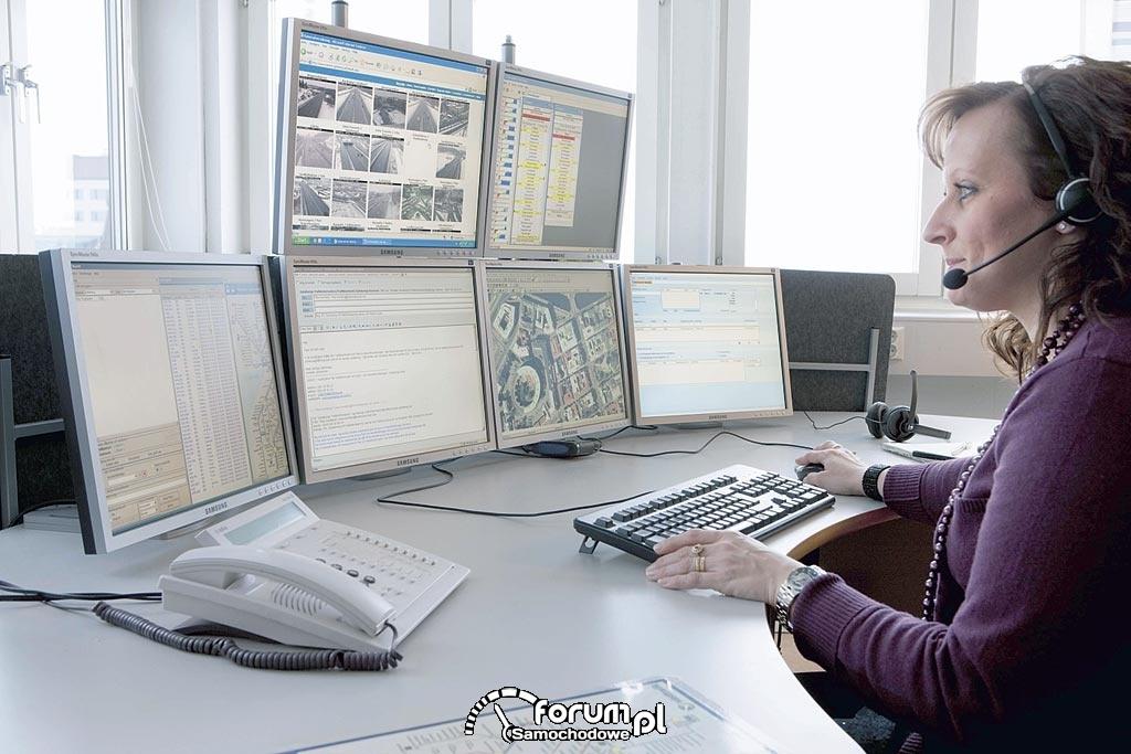 System monitoringu mobilnej komunikacji miejskiej, stanowisko zarządzania