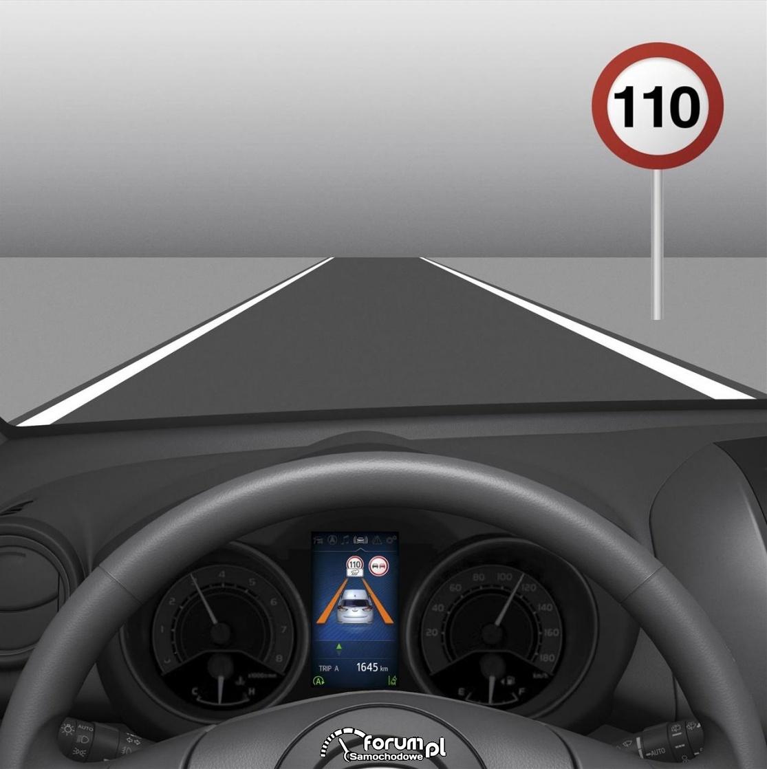 System rozpoznawania znaków drogowych