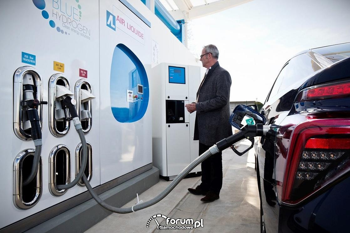 Tankowanie wodoru, Toyota Mirai