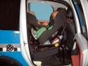 Test bezpieczeństwa fotelików na zeczepy ISOFIX