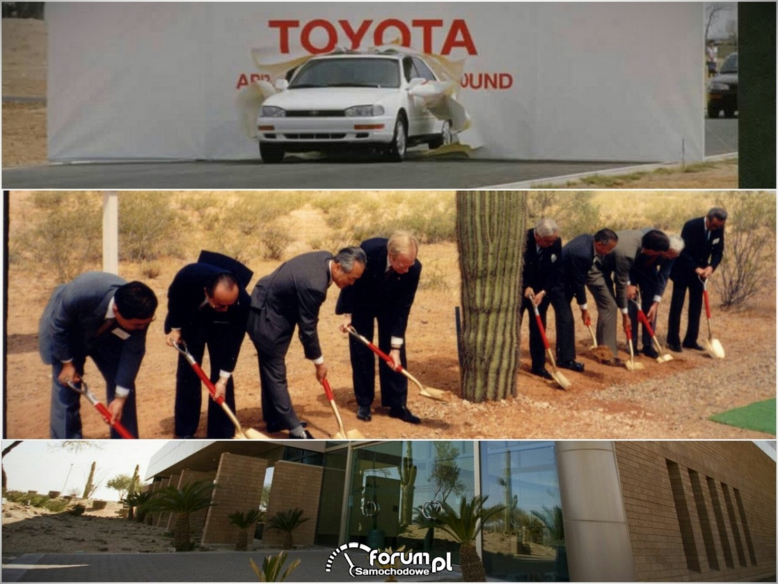 Toyota Arizona Proving Ground (TAPG) - tor testowy Toyoty w USA