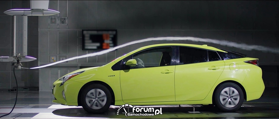Tunel aerodynamiczny, Toyota Prius