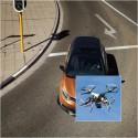 Czy drony złapią piratów drogowych na gorącym uczynku?