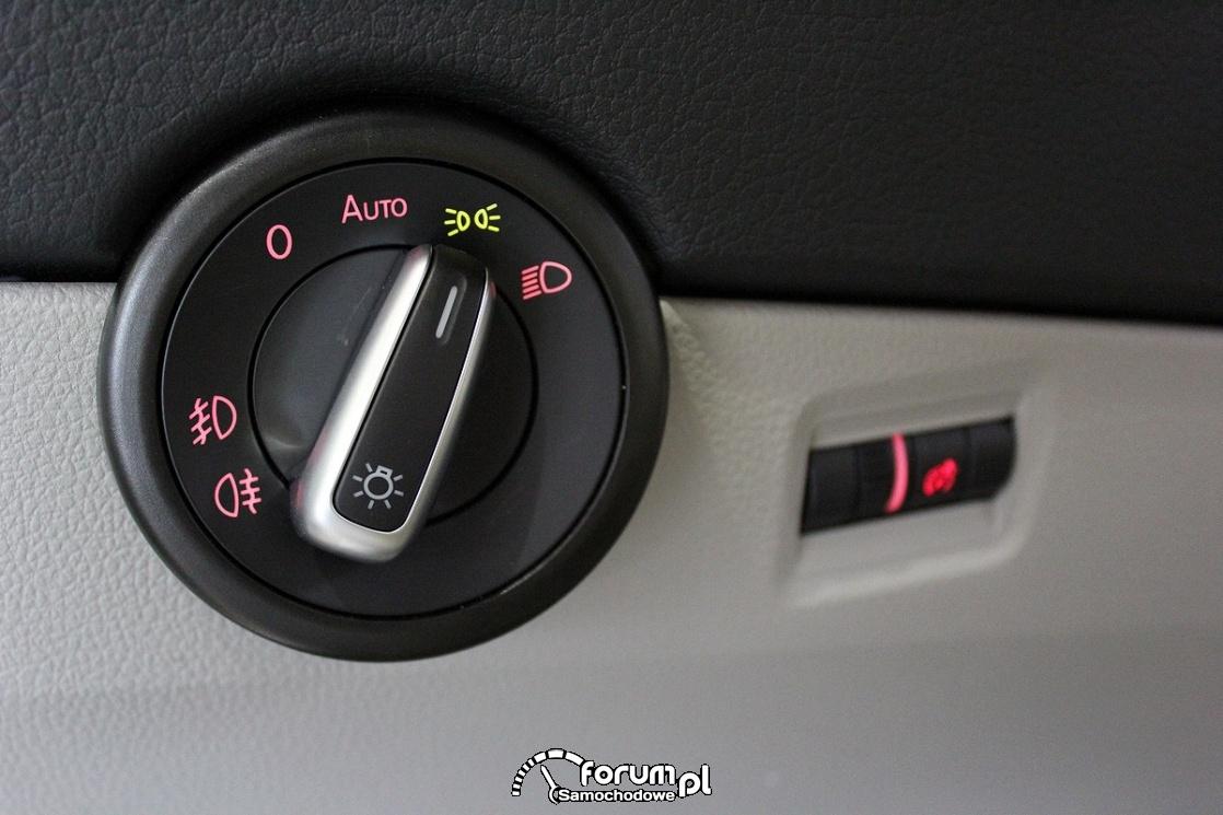 Włącznik świateł, Volkswagen California XXL