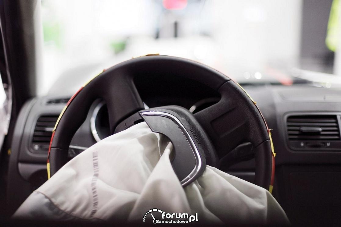 Wystrzelona poduszka powietrzna, airbag
