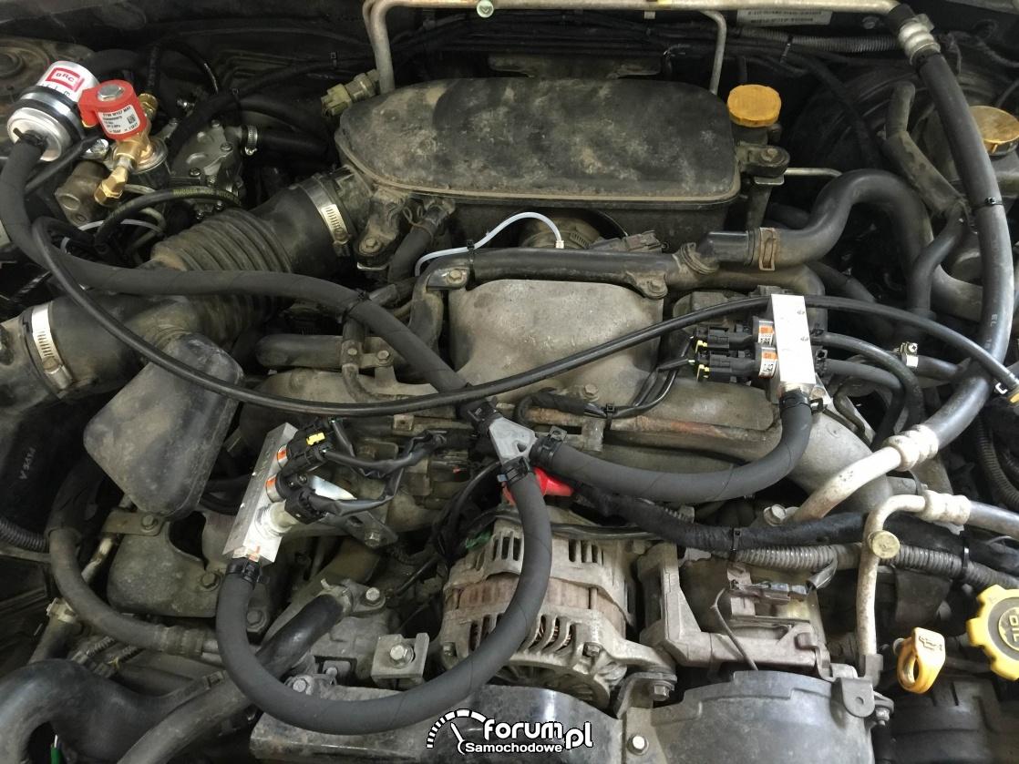 Instalacja BRC w moim nowym nabytyku Subaru Forester 2.0 XT