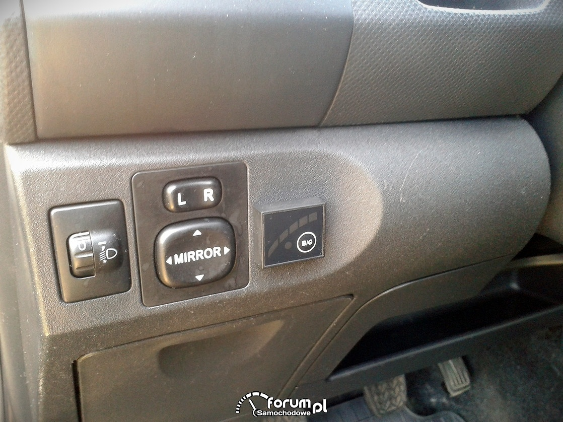Przełącznik benzyna - gaz