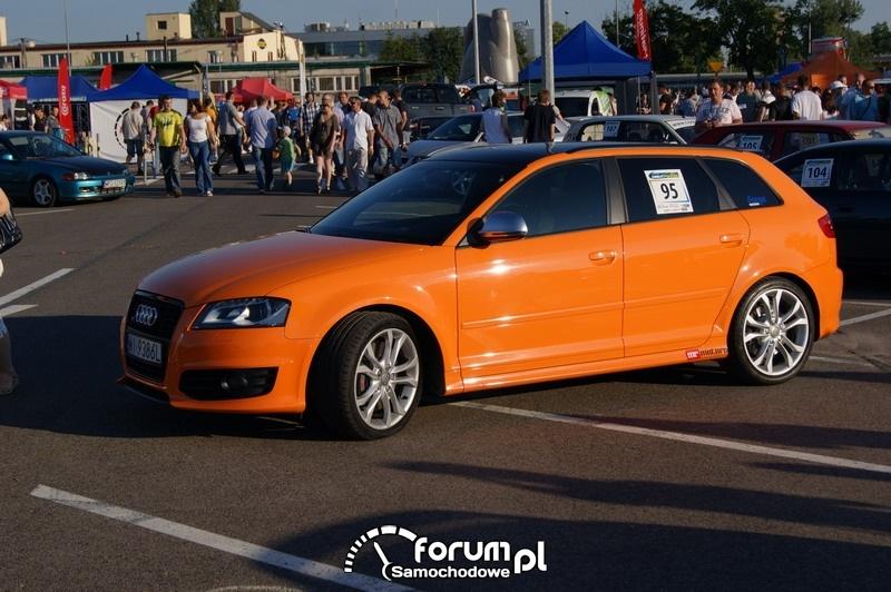 Audi A3 - wyścigi uliczne Olsztyn