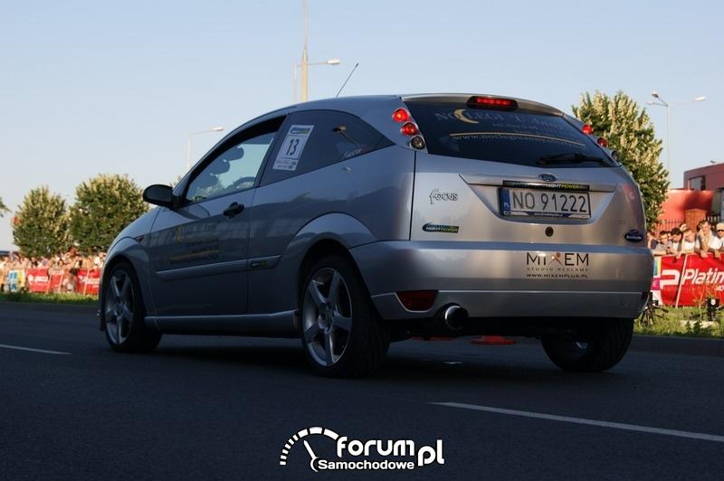 Ford Focus - wyścigi uliczne Olsztyn