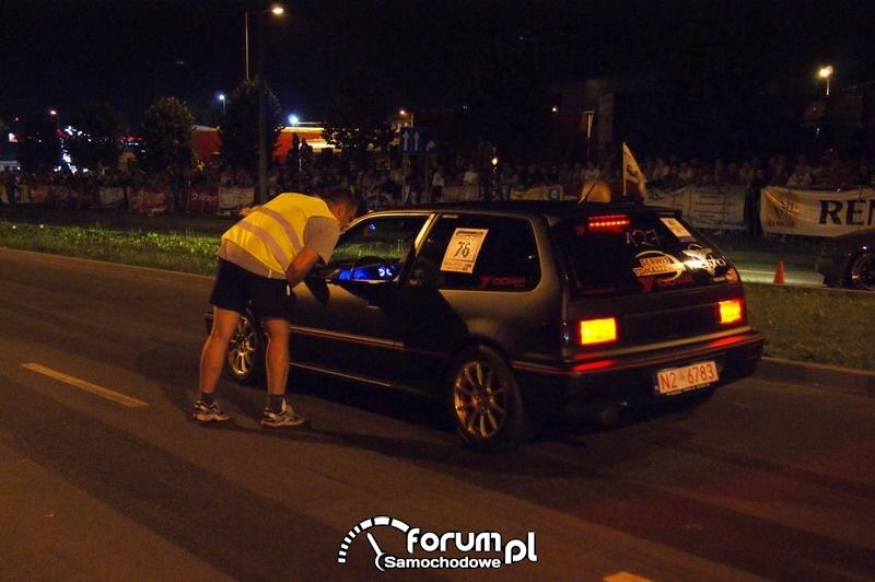 Nocne wyścigi Olsztyn