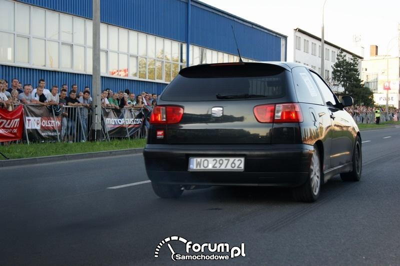 Seat Ibiza - wyścigi uliczne Olsztyn