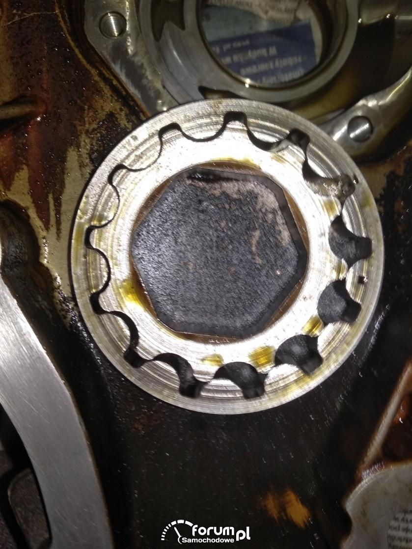 Z14XEP - kontrolka oleju.
