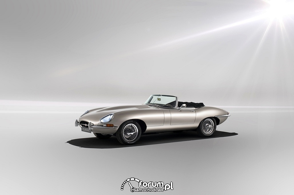 Jaguar E Type Zero