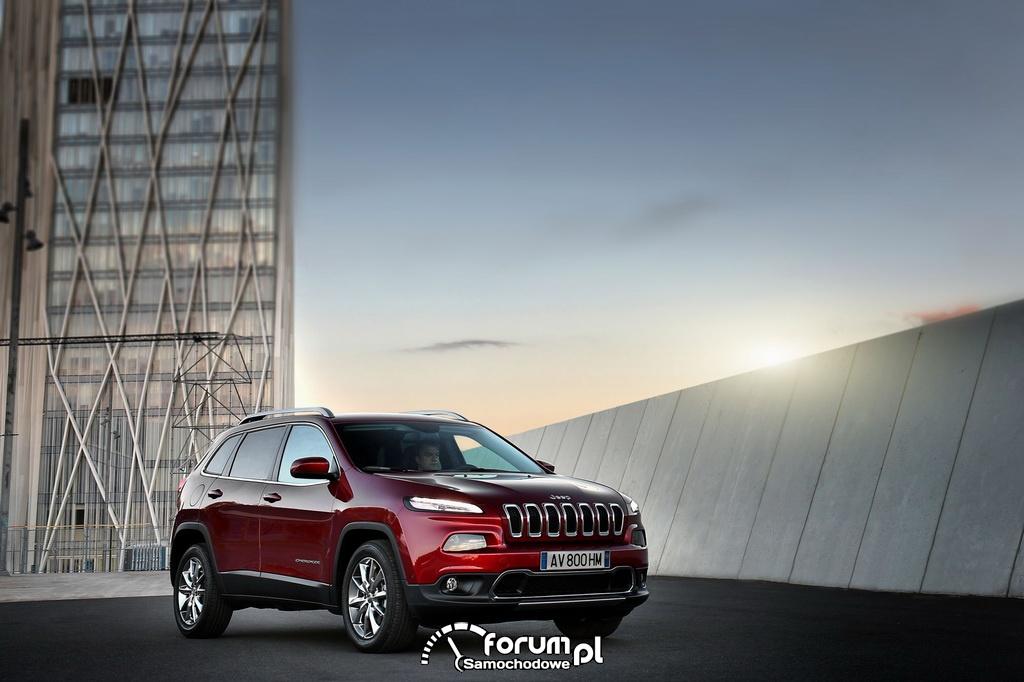 Jeep Cherokee Limited na Motor Show 2014