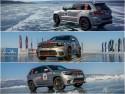 Rekord prędkości SUV-a podczas jazdy po lodzie na jeziorze Bajkał