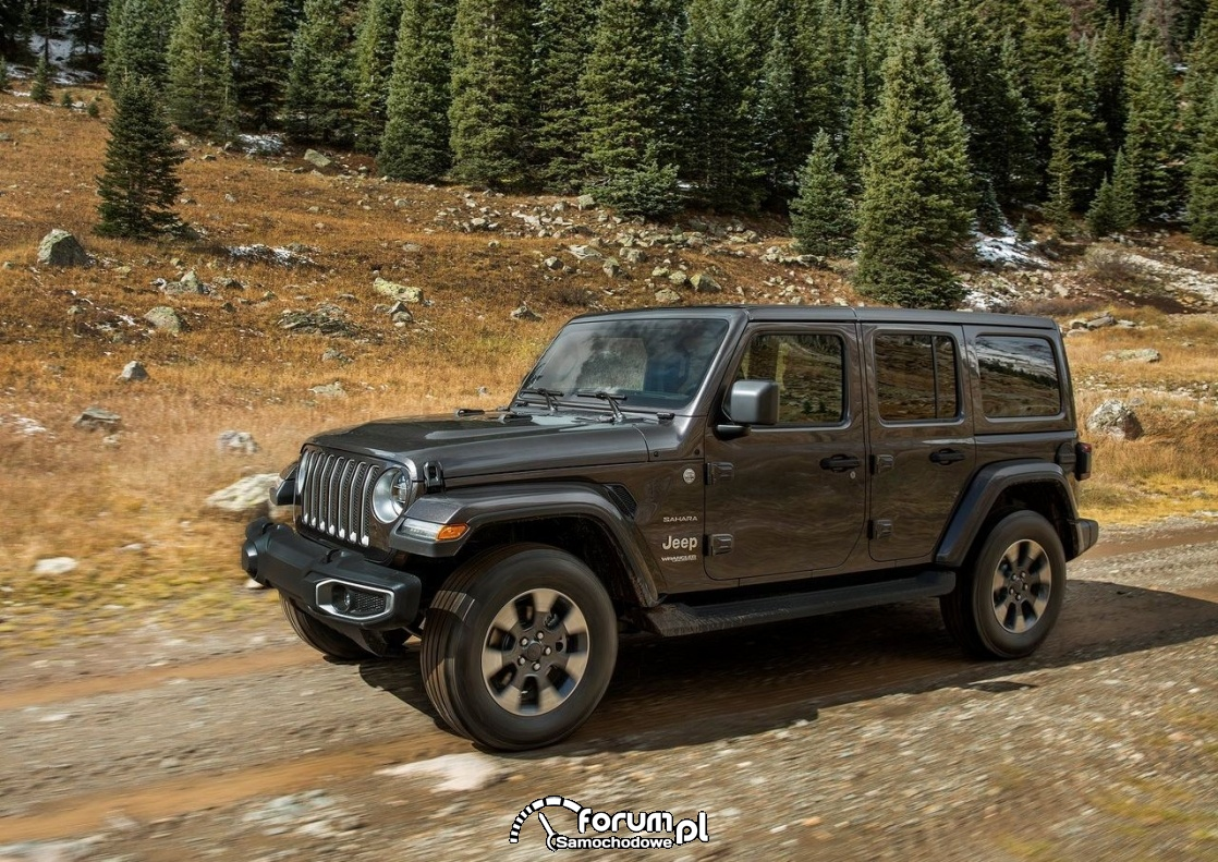 Jeep Wrangler Unlimited, 2018