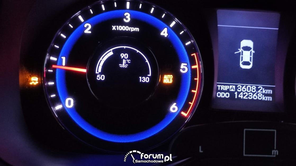 Kontrolka Hyundai i40