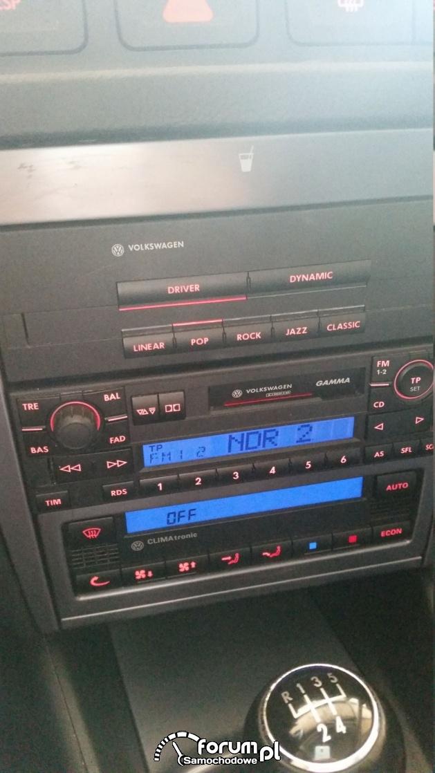 Radio VW Golf i zmieniarka