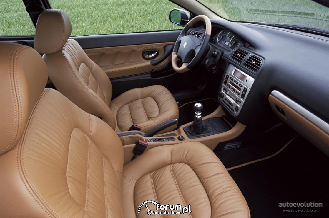 Peugeot 406 Coupe, wnętrze