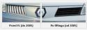 Renault Vel Satis, przed i po lifcie