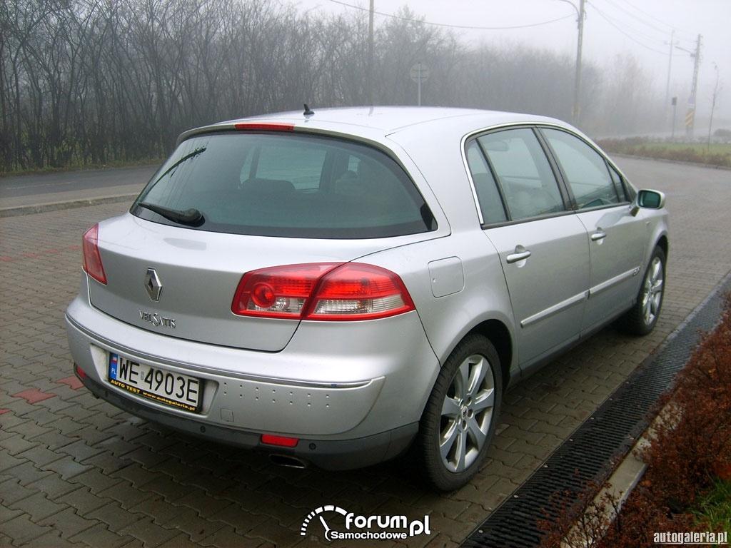 Renault Vel Satis, tył