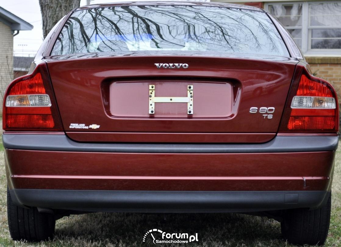 Volvo S80 T6, 2000 rok, tył
