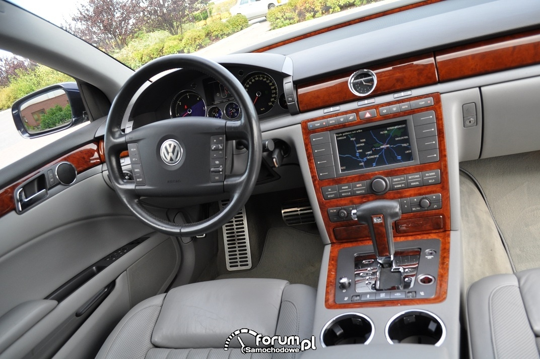VW Phaeton, wnętrze