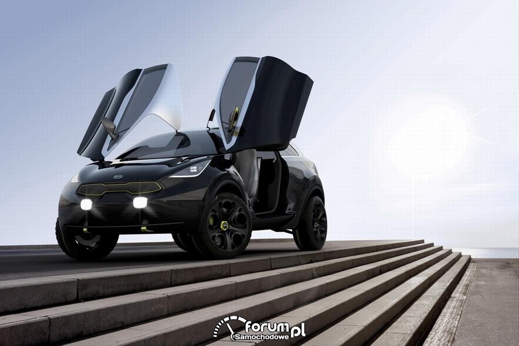 Kia Niro Concept, lambo doors