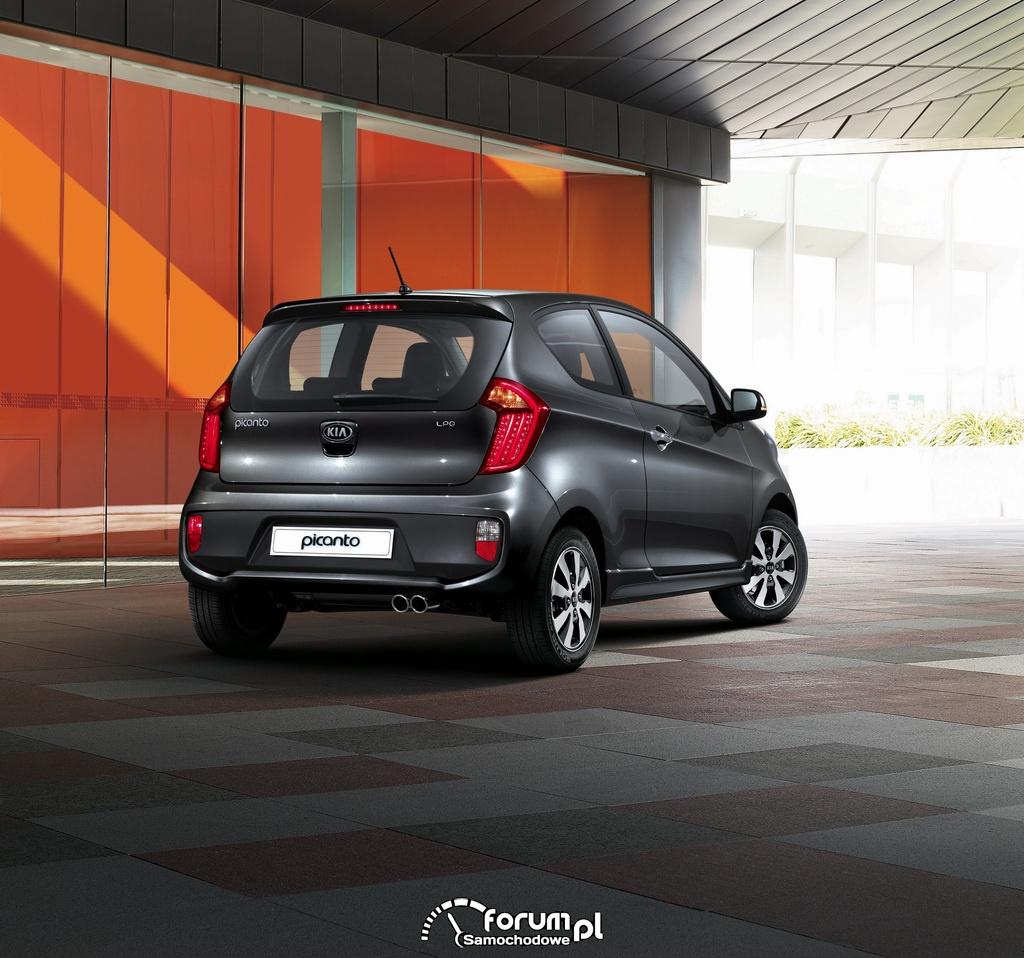 Kia Picanto LPG (bi-fuel) - małe zwinne i oszczędne auto