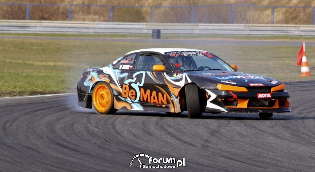 Drift Nissan Silvia, 2