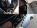 Gruntowanie pod klej do szyb - Honda Civic VIII UFO