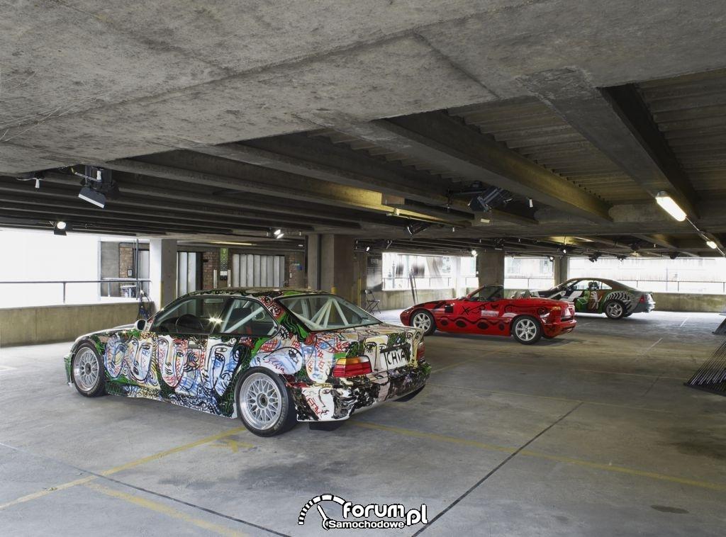 BMW 3 Series saloon-car racing prototype - 1992 & BMW Z1 - 1991 & BMW 850 CSi - 1995