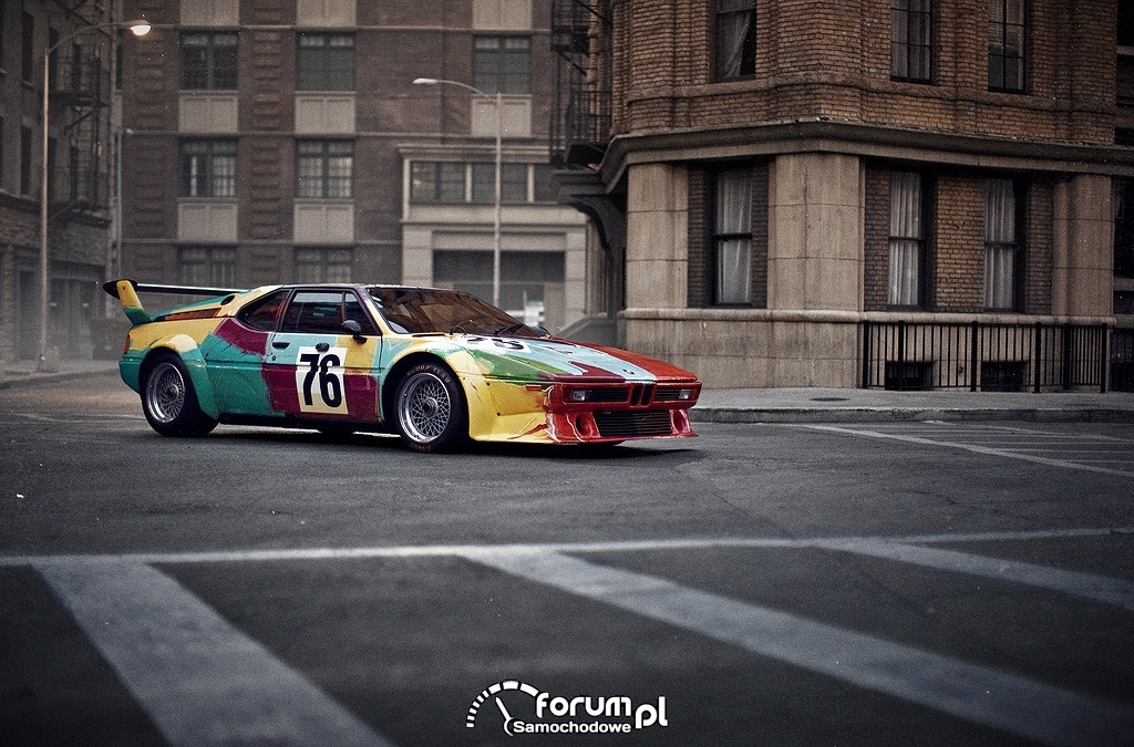 BMW M1 group 4 racing version, 1979