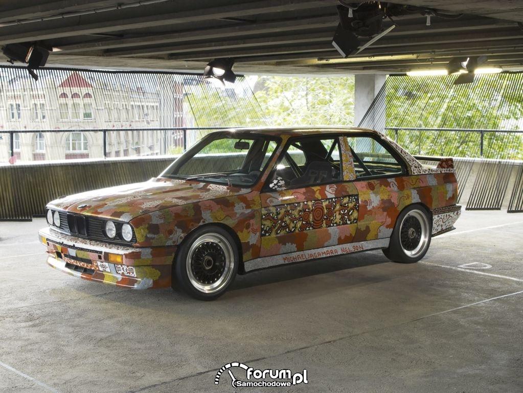 BMW M3 group A racing version - 1989
